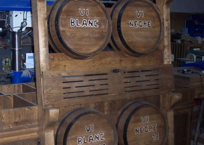 Toneles de vino para vino