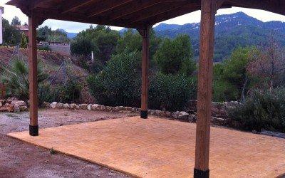 Montajes de pérgolas de madera en Tarragona