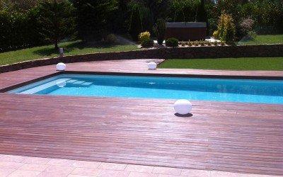 Suelos de madera en exteriores en Tarragona