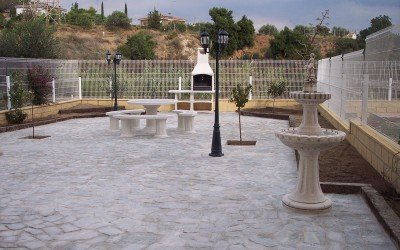 Colocación de suelos en exteriores en Tarragona – Barbacoas exteriores
