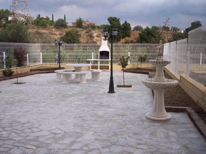 colocacin de suelos en exteriores en tarragona u barbacoas exteriores