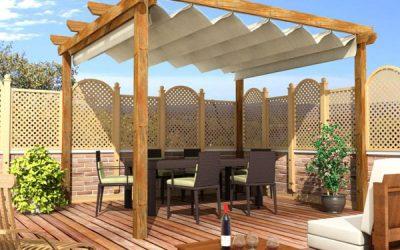 Tipos de pérgolas de madera, modernas o de diseño, rústicas, clásicas…