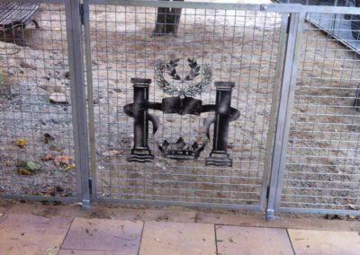 cerramientos puerta decorativa
