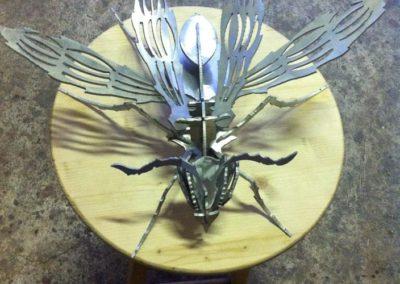 decorativos en metal